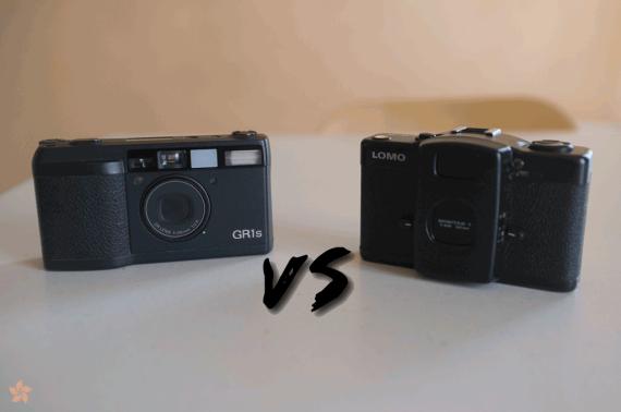 GR1s VS Lomo LC-A